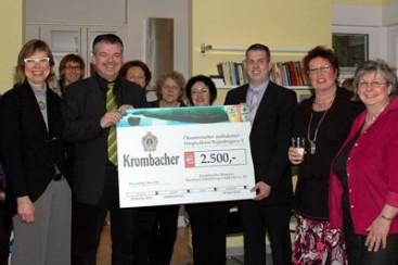 Büroeröffnung und Spendenübergabe am 18. März 2011