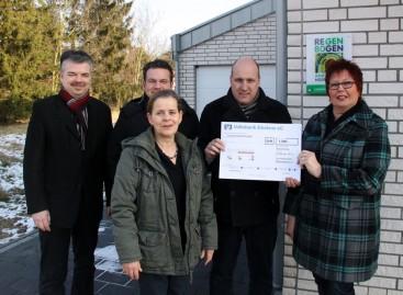 Gewerbeverein Wassenberg spendet 2012 € 1300,- für das Projekt Schatzsucher