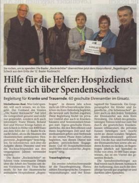 PDF Spende Baaler Rocknacht 2014 Heinsberger Zeitung 300